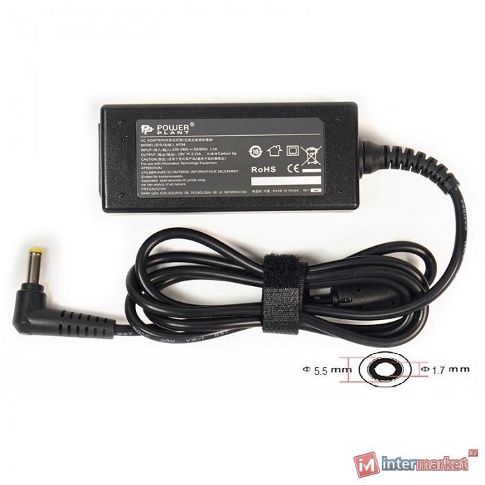 Блок питания для ноутбуков PowerPlant ACER 220V, 19V 40W 2.15A (5.51.7)