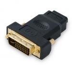 Переходник SHIP SH6047-B, HDMI на DVI 24+5