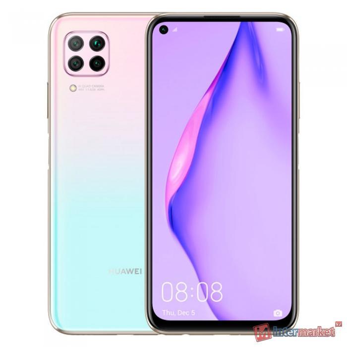 Телефон сотовый HUAWEI P40 Lite (Sakura Pink)