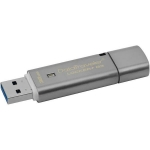 Флешка USB Kingston, DT Locker+G3, 32GB,  gray